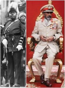 Marcus Garvey Haile Selassie H.I.M Rastafari