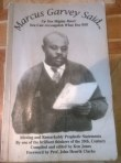 My copy of the book 'Marcus Garvey Said....'