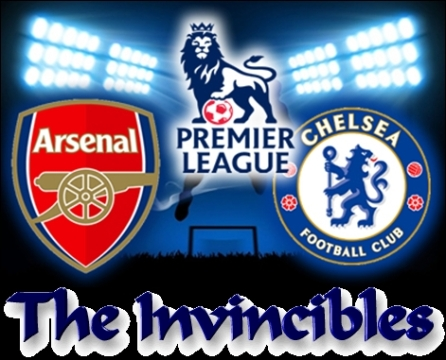 The Invincibles, Arsenal, Chelsea, English Premier League, Unbeaten,