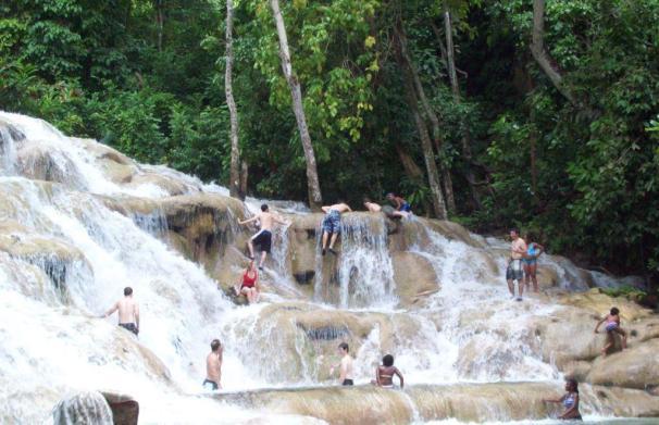 Dunn's River Falls, Dunns River Falls, Dunns River, Ocho Rios, Ochi, Jamaican Beaches, Jamaica, Beach,