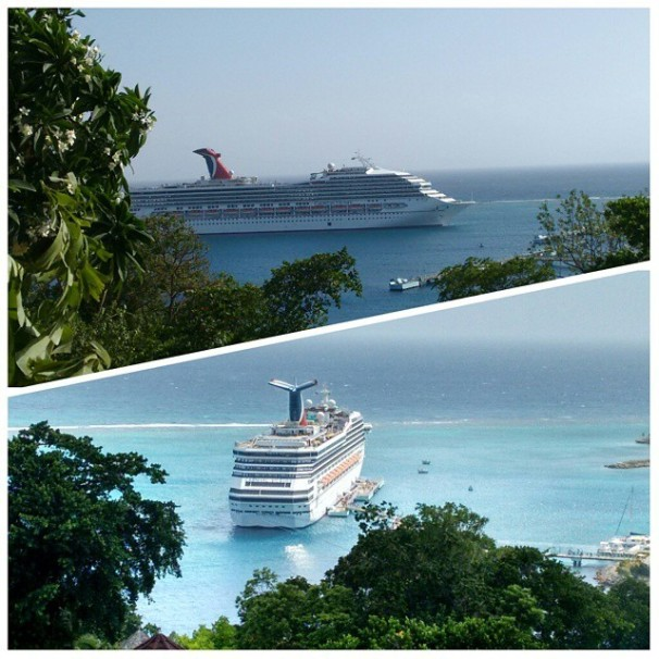 Carnival Victory - Ocho Rios, Jamaica, Cruise Ship,
