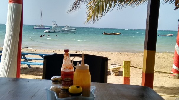 Sharkies Beach Jamaica, Salem, Runaway Bay, Sharkies Restaurant,