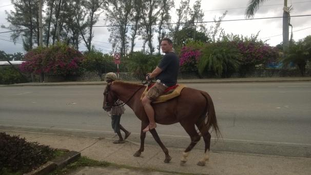 Tourist Horseback Riding - Runaway Bay, Jamaica.