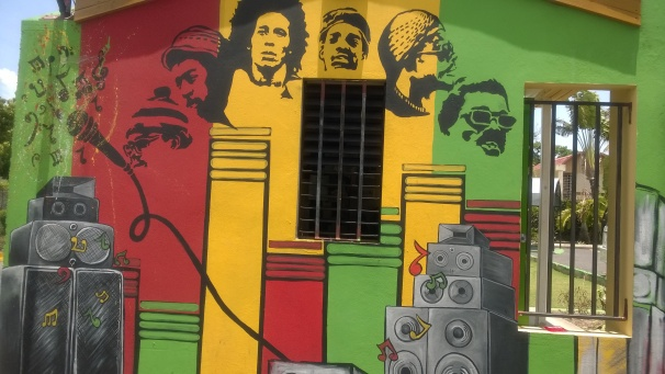 Wailers Mural - Bob Marley Museum, Jamaica,