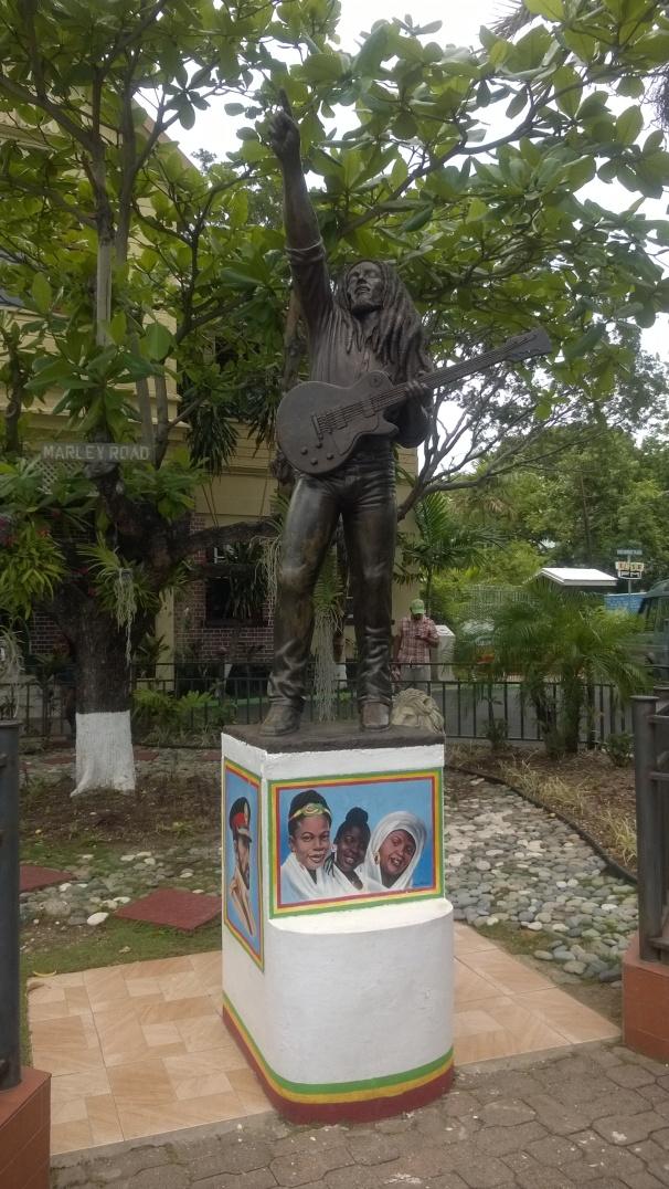 Bob Marley Statue - Bob Marley Museum, Jamaica, Robert Nesta Marley, Wailers,