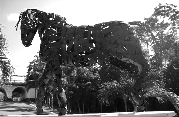 Cee's Black & White Photo Challenge - Large Objects -Jamaica