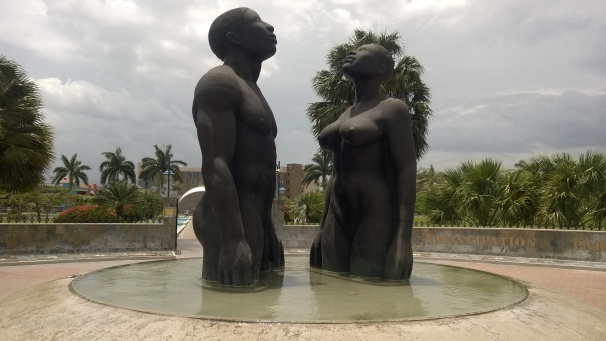 Emancipation Park, Freedom Statues