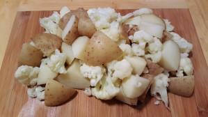 Potatoes and Cauliflower
