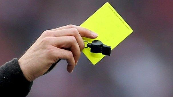 Yellow Card and Whistle