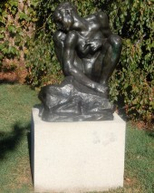 Crouching Woman by Auguste Rodin