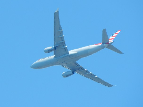 Underbelly American Airlines Aircraft