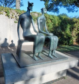 King and Queen by Henry Moore