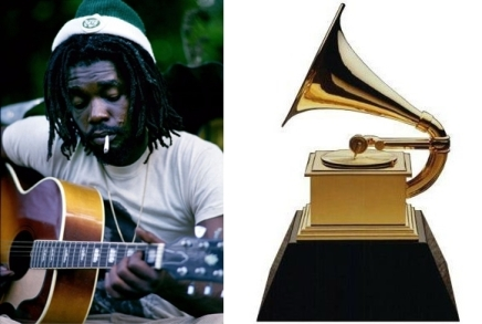Peter Tosh Grammy and Guitar