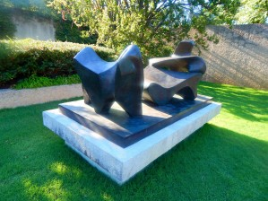 Three-Piece Reclining Figure No. 2: Bridge Prop by Henry Moore
