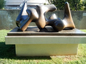 Three-Way Piece No. 3: Vertebrae (Working Model) by Henry Moore