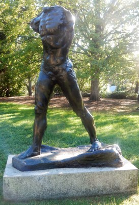 Walking Man by Auguste Rodin