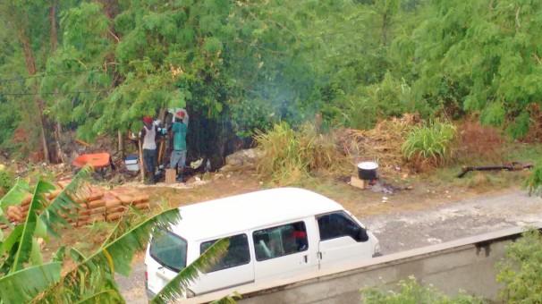 Work Men on Break - Trelawny, Jamaica