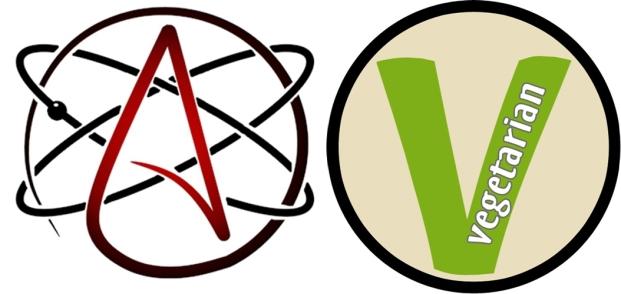 Atheism, Vegetarianism,