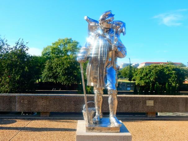 Shiny Statue