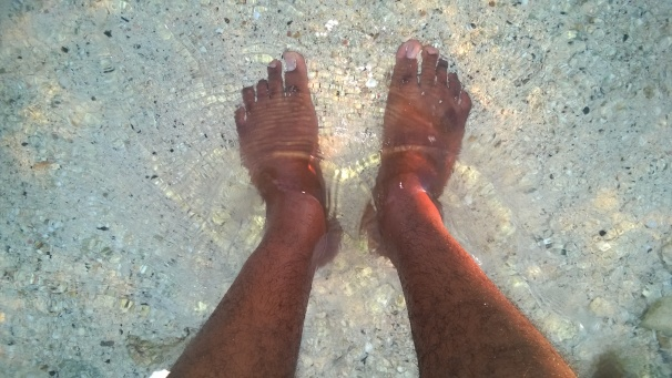 My Feet in Water - Cayman