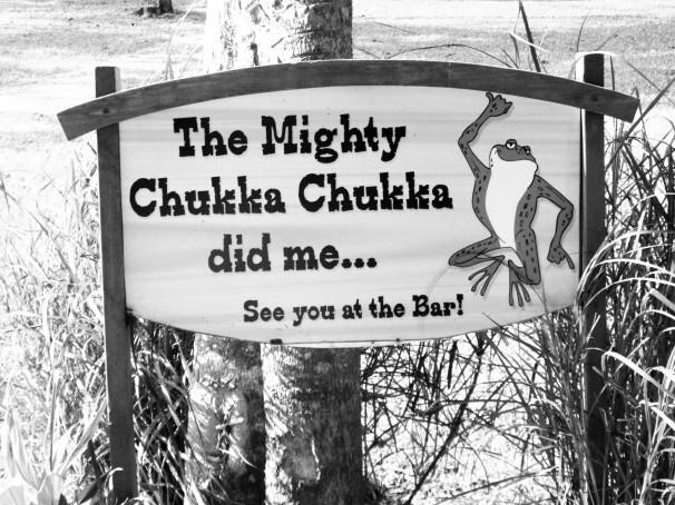The Mighty Chukka Chukka...