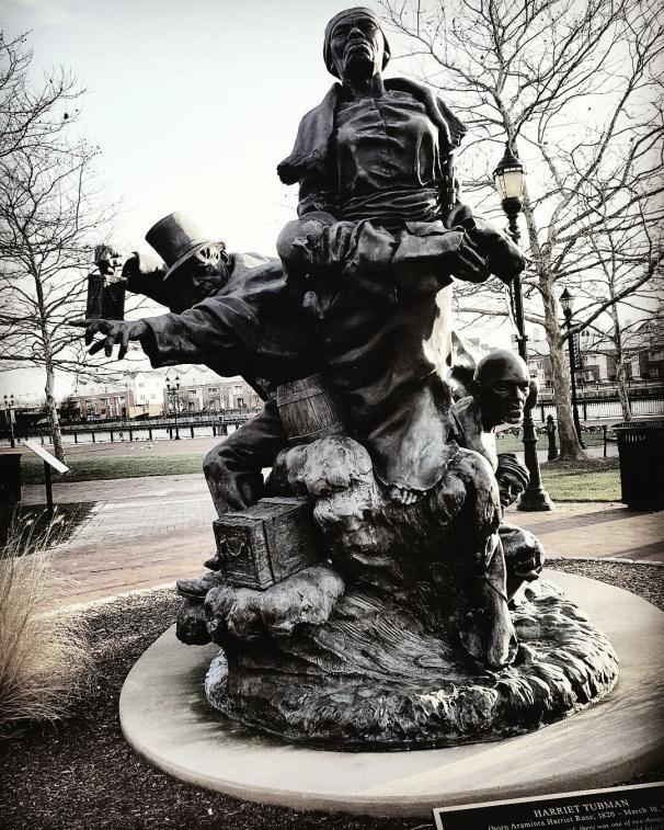 Harriet Tubman, Thomas Garrett, Statue, Riverfront, Park, Wilmington, Delaware,