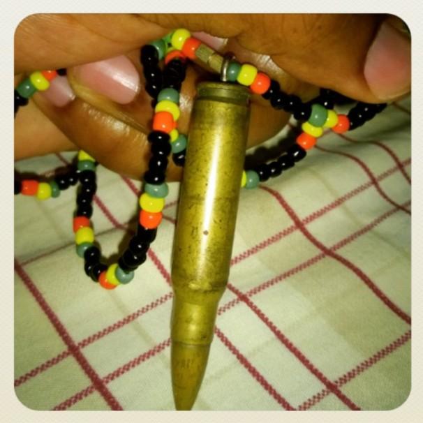 AK47 Bullet, Bullet Pendant, AK47 Ammunition,
