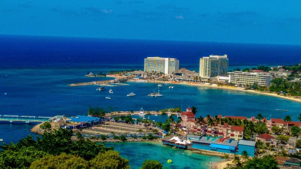 View of Ocho Rios, Jamaica