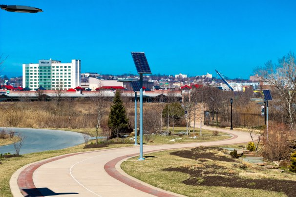 Dupont Environmental Education Center Pedestrian Path