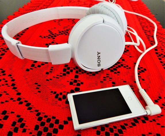 Sony Headphones and Ipod Nano