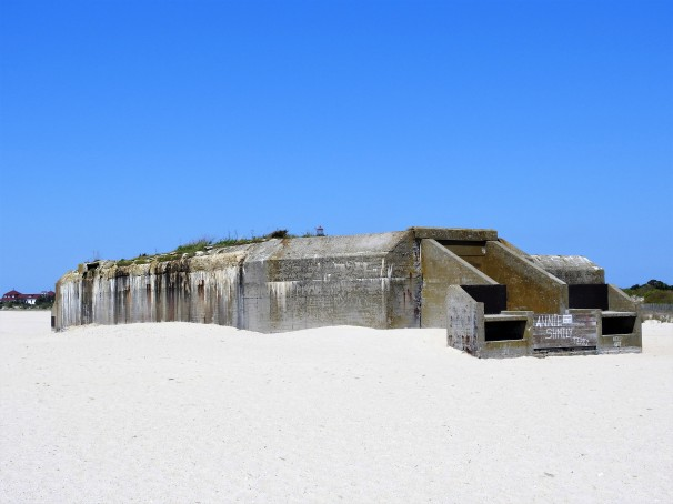 Battery 223 - World War II Concrete Bunker