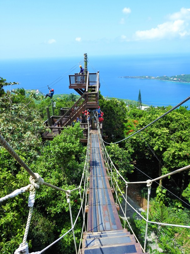 Ziplining In St. Thomas