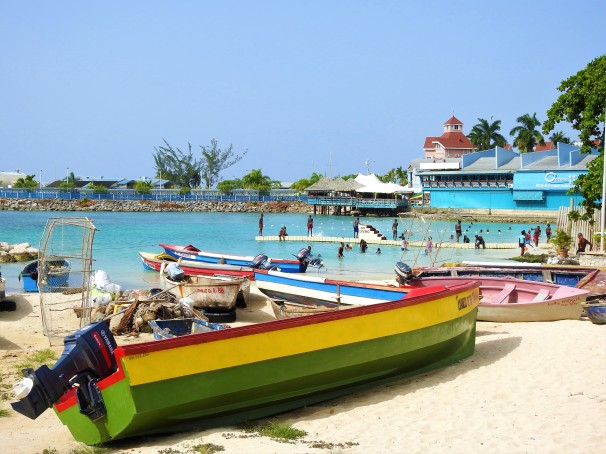 Fisherman Beach/Ocho Rios Fishing Village in Jamaica.