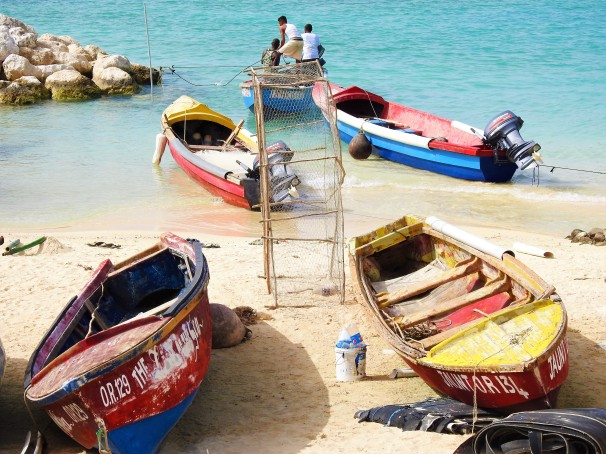 Ocho Rios Fishing Village in Jamaica.