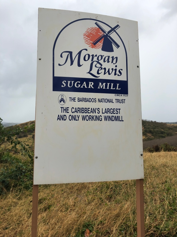 The Morgan Lewis Sugar Mill Sign