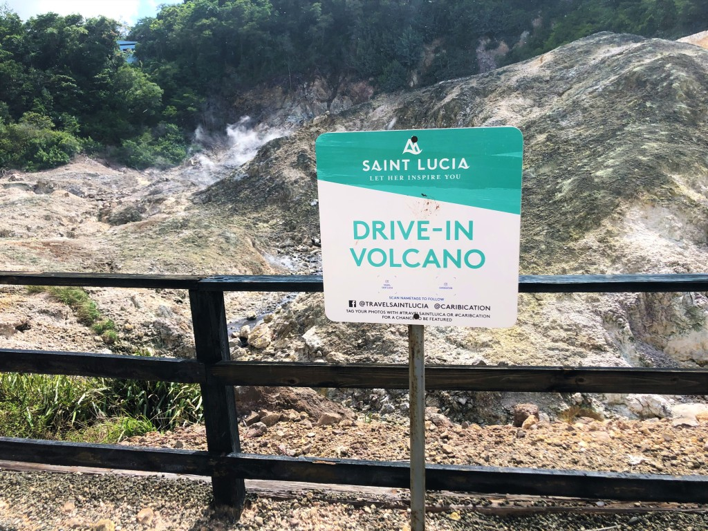 Drive-in Volcano, St. Lucia