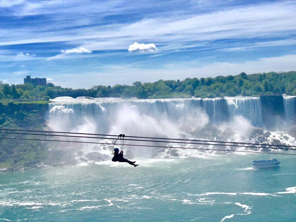 American Falls - Niagara Falls - Zipliner