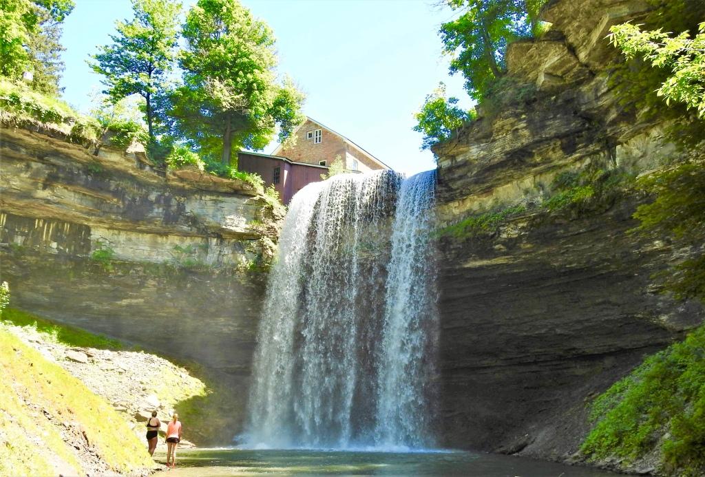Decew Falls in Ontario, Canada.